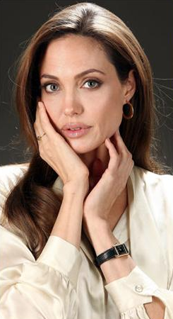 Angelina Jolie Replica Cartier Tank