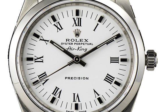 Rolex Airking 14000 Replica </p>                     </div>   <!--bof Product URL --> <!--eof Product URL --> <!--bof Quantity Discounts table --> <!--eof Quantity Discounts table --> </div>                        </dd> <dt class=