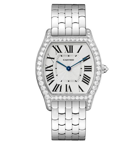 orologio da donna Cartier Tortue replica oro bianco