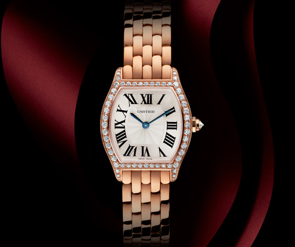 orologio falso cartier tortue da donna in oro rosa