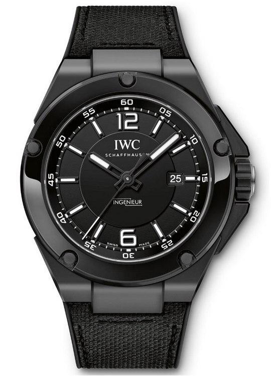 Replica IWC Ingenieur Automatic AMG Serie Ceramica Nera iw322503