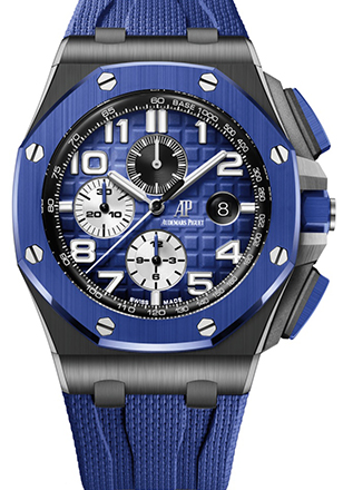 Replica Royal Oak Offshore Selfwinding Chronograph 44 mm Blu