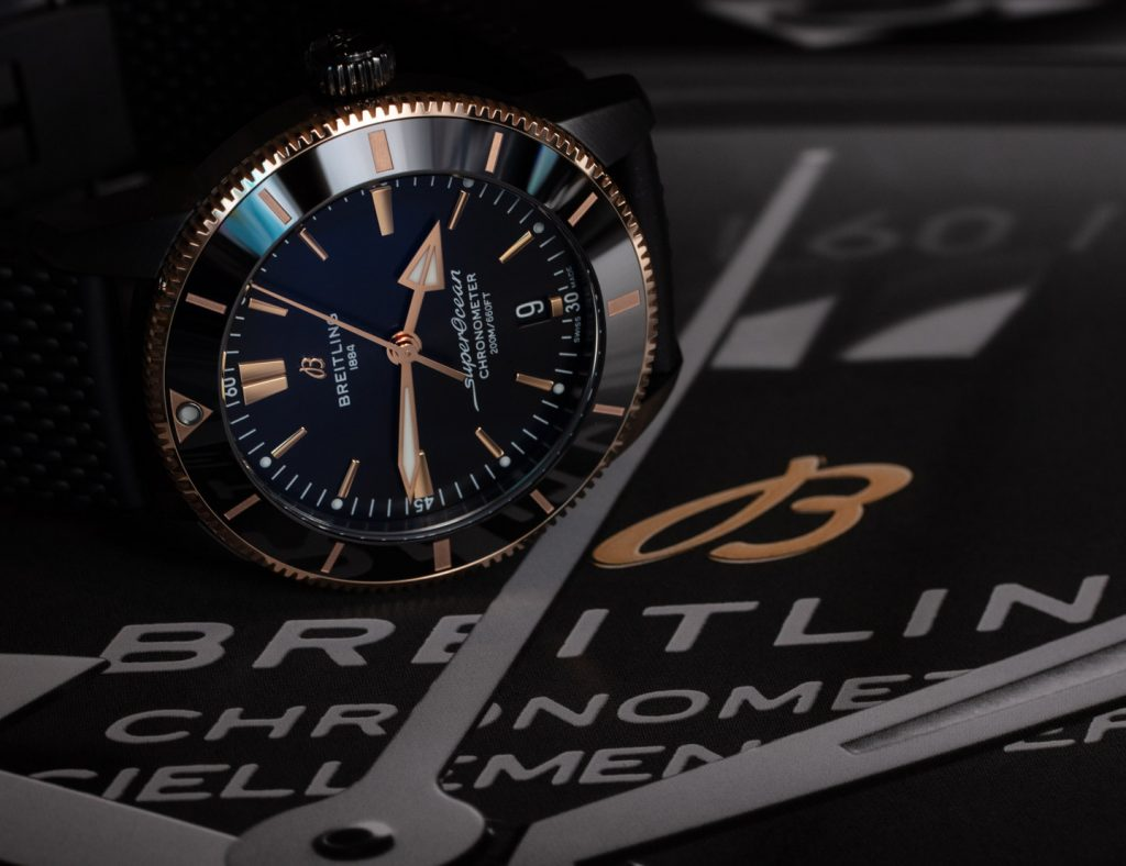 Repliche Breitling Superocean Heritage II 44 Beverly Hills Limited Edition