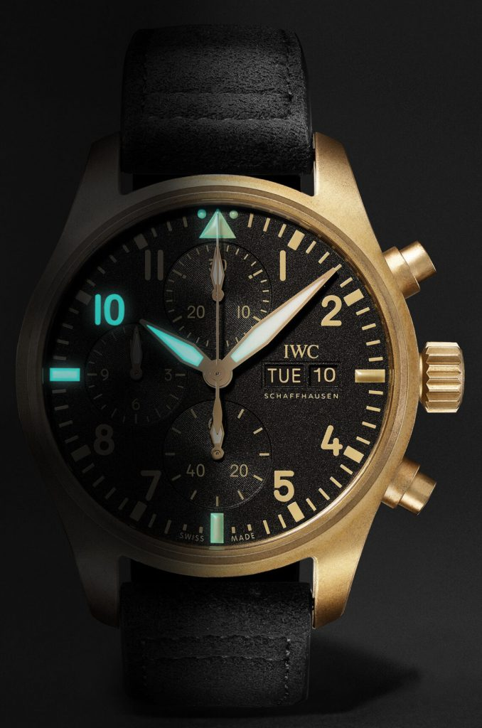 IWC 10 Years Of MR PORTER Limited Edition Pilots Chronograph Replica